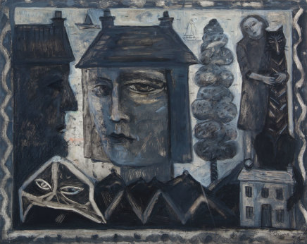 Joyce W Cairns, Houses by the Tay
