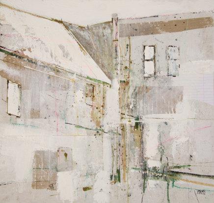 Robert McAulay, White Roofs 4, 2019