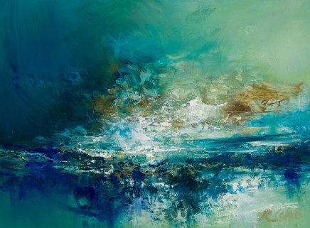 Kirstie Cohen, Seascape study ii, 2019