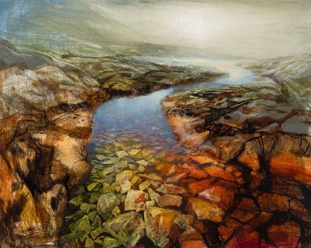 Beth Robertson Fiddes, Hill Loch Assynt, 2019