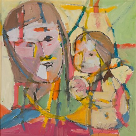 Catherine Imhof-Cardinal, Mother and Child Together, 2018