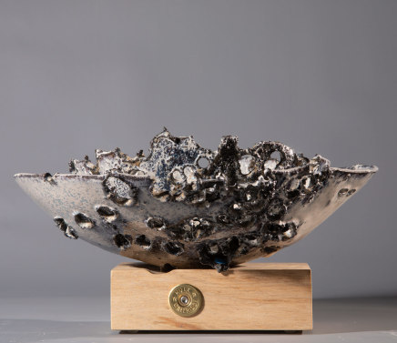Allison Weightman, Shotgun bowl ii, 2019