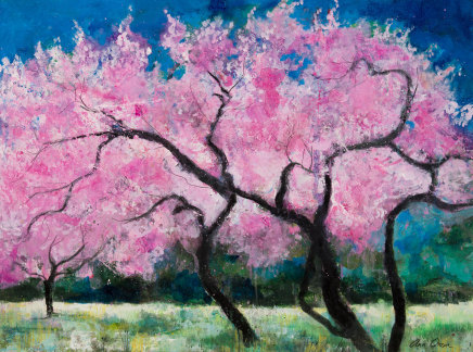 Ann Oram, Blossom Trees and the Meadow