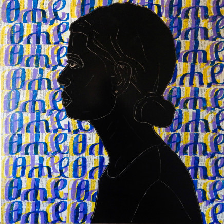 Ephrem Solomon, Silence Series 16 , 2017