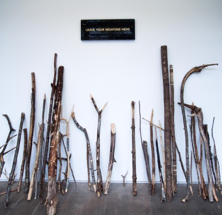 Fredrik Raddum, Leave Your Weapons Here, 2014