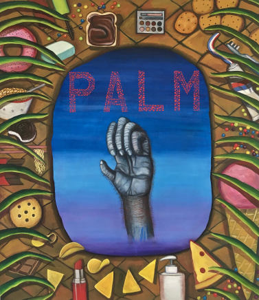 Celina Teague, Palm Spoils, 2018