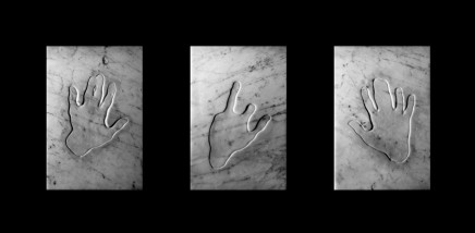 Athar Jaber, Triptych Opus 25, 2019