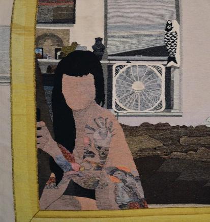 Erin M. Riley, After Sex Selfie, 2019