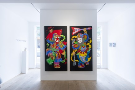 Hai Huang, Door God I & Door God II, 2013
