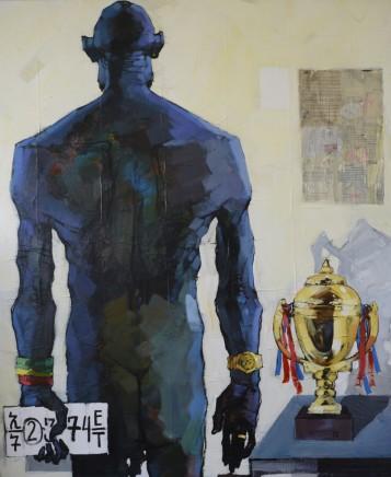 Dawit Abebe, No 2. Background 40, 2016
