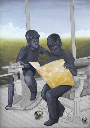 Chris Agnew, Sitting Forever, Gluing Things Together, 2013