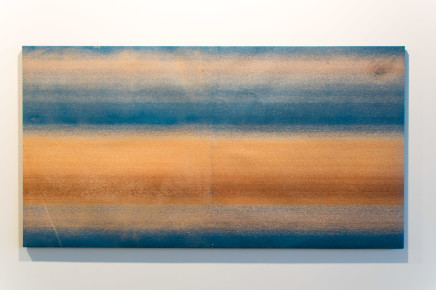 Dalila Gonçalves, Untitled (Lixa Grande Azul), 2017