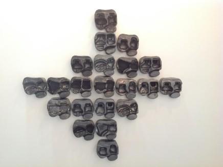 "Patricia Camet, ""Chichen"" Black skulls"