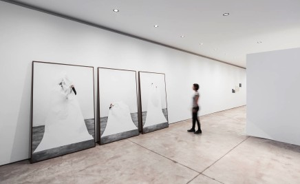 Carla Chaim, Installation shot, Volumes III, II, and I, 2014