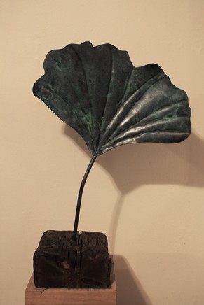 Barbara Edelstein 芭芭拉・愛德斯坦, Ginkgo Leaf # 1, 2013