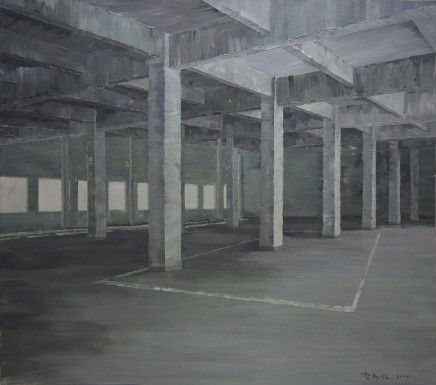 Li Yiwen 李易紋, Square Matrix, 2014