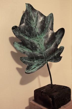 Barbara Edelstein 芭芭拉・愛德斯坦, Ginkgo leaf # 3, 2013