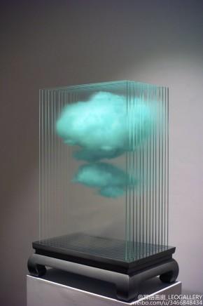 Cai Zhisong 蔡志松, Blue Cloud Screen, 2014