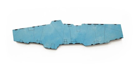 Sim Chan 陳閃, SimSky No.22 1213.4 cm², 2011