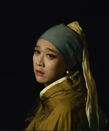 Han Jinpeng 韓金鵬, Girl with a Pearl Earring 珍珠耳環的少女, 2014