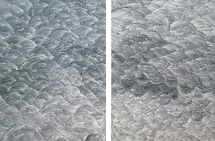 Man Fung-yi 文鳳儀, White Embroidery No.1 & No.2, 2008