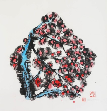 Huang Yan 黃岩, The Ink and Wash Research No.10, 2014