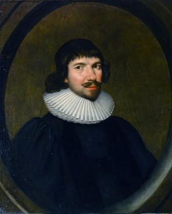 Cornelius Johnson, Portrait of William Watts, 1625