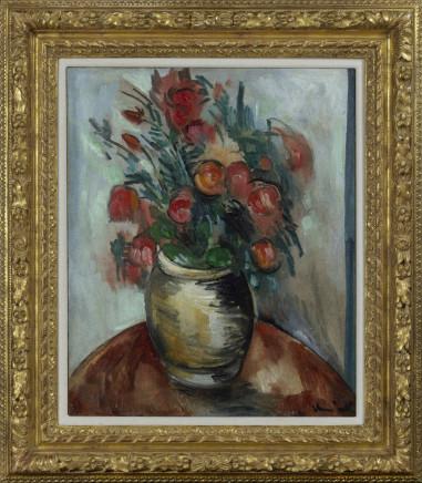 Maurice de Vlaminck, Bouquet de fleurs dan un vase, c. 1913