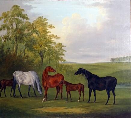 John Nost Sartorius, Mares and Foals