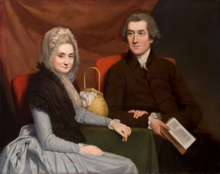 Gilbert Stuart, Gentleman and lady at a table