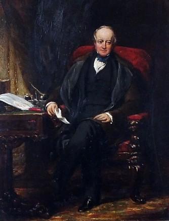 <span class=%22title%22>Portrait of Joseph Hodgson PRCS (1788-1869) sitting at his desk</span>