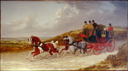 John Frederick Herring, Snr, The Edinburgh to London Royal Mail coach, 1838