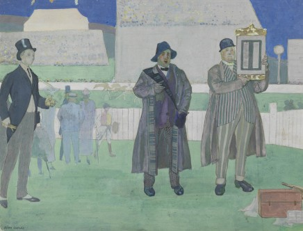 <span class=%22title%22>Paying the winners at the Derby, Epsom</span>