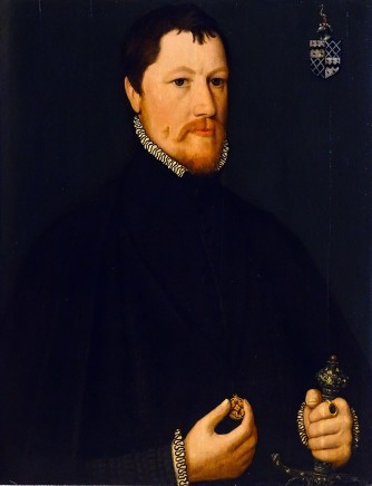 Hans Eworth, Thomas Elrington ?1520-1566, 1556