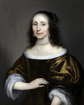 Cornelius Johnson, Portrait of a young lady, 1645