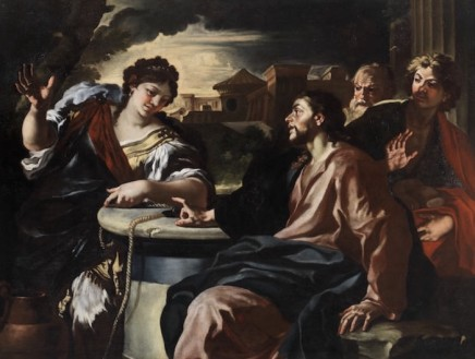 Francesco Solimena, Christ and The Woman From Samaria