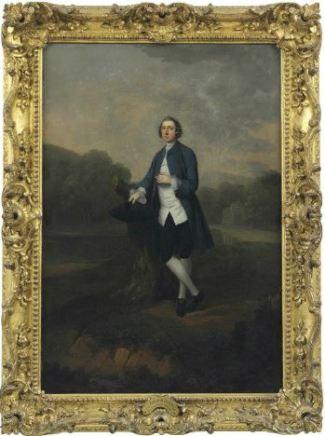 Arthur Devis, Peregrine Courteney 1720-1786