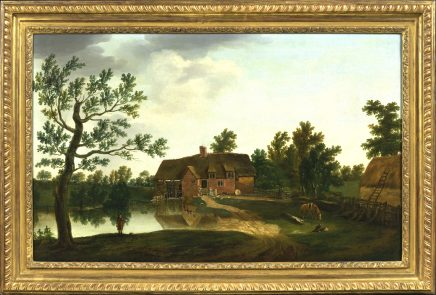 William Tomkins, A view of Chamberlain's Mill at Bere, Dorset