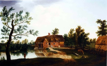 <span class=%22title%22>A view of Chamberlain's Mill at Bere, Dorset</span>