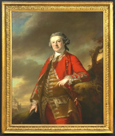 Francis Cotes, Portrait of Sir Robert Pigot (1720-1796), in the uniform of the 38th Regiment
