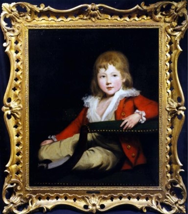 <span class=%22title%22>Portrait of Master George O'Connor of Castleknock (1778-1842), dressed in red with buff breeches, sitting in a chair</span>