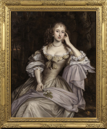 John Michael Wright, Portrait of Lady Hester Cotton