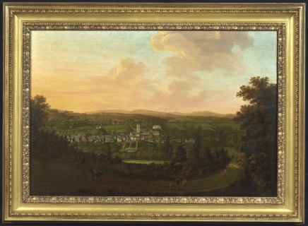 William Tomkins, A panoramic prospect of Plympton, Devon