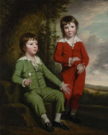 Thomas Beach, Portrait of the Masters Blair: Charles and Henry Blair, the Children of Charles Blair and Lady Mary Fane