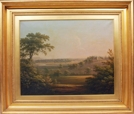 <span class=%22title%22>A view of Langton Hall, Yorkshire</span>