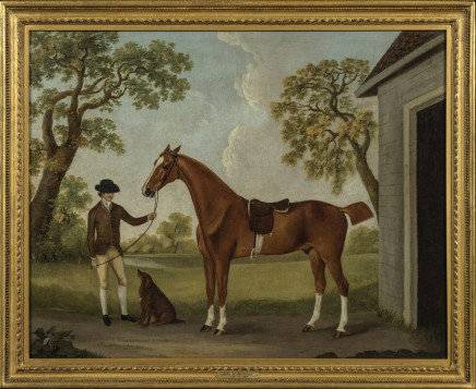 John Nost Sartorius, Hunter and Groom