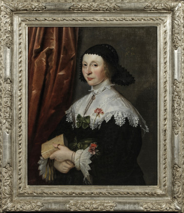 Gilbert Jackson, Portrait of a lady aged 32, 1634