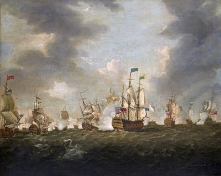 Richard Paton, Battle of Quiberon Bay