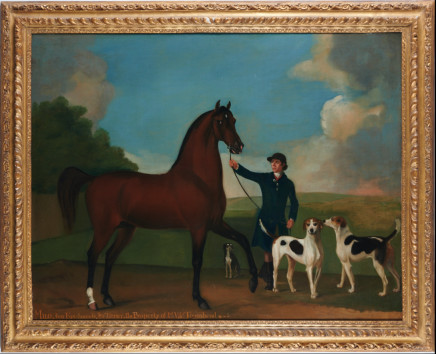 Richard Roper, Portrait of Milo, Two Fox-Hounds & a Tarrier, The Property of Ld: Vise': Townshend