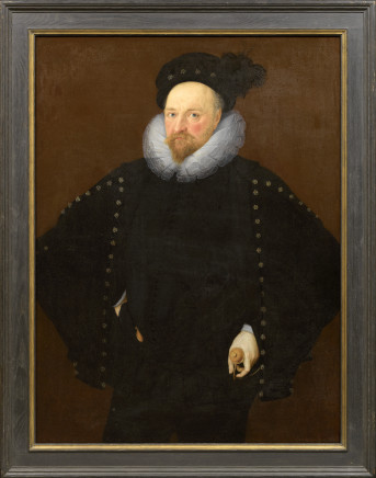 Marcus Gheeraerts the Younger, Portrait of Sir Richard Lee (1548-1608) of Ditchley